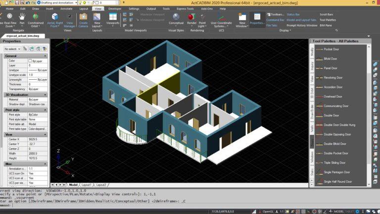ActCAD Professional Crack 2021 10.0.1447 Latest Version Free Download