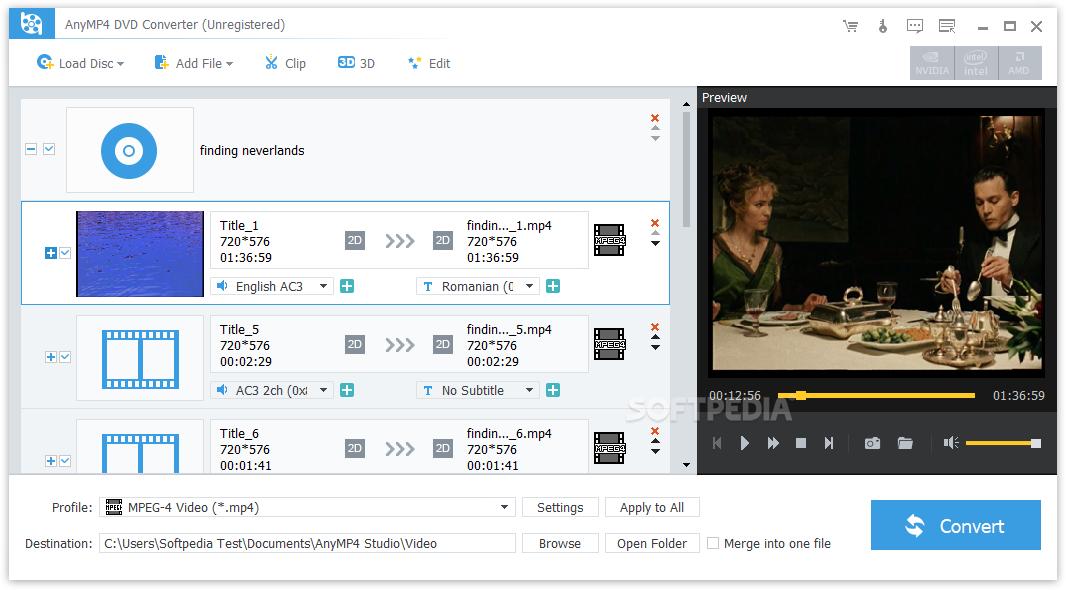 AnyMP4 DVD Converter Crack 7.2.26 Latest Version 2021