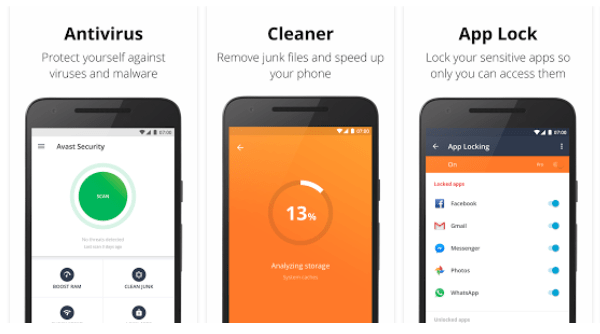 Avast Mobile Security Cracked APK 2021 6.35.2 Latest Version