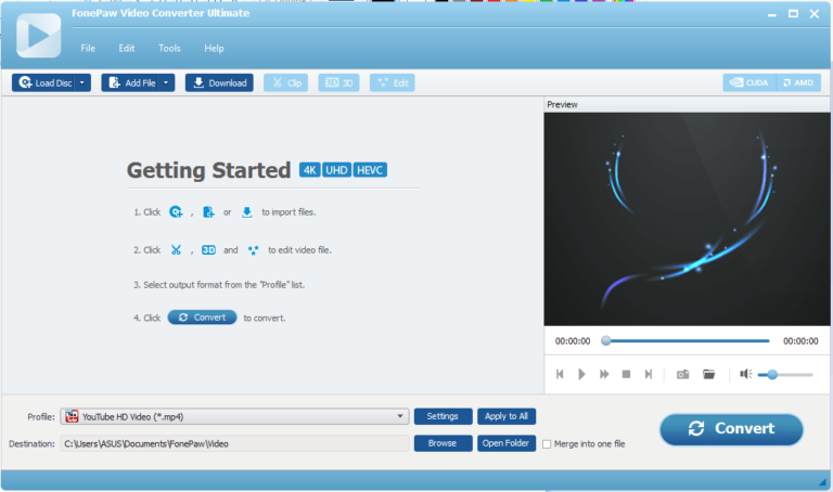 FonePaw Video Converter Ultimate Crack 6.3.0 Latest Version