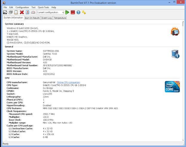 PassMark BurnInTest Pro Crack 9.2 Build 1002 Latest Version