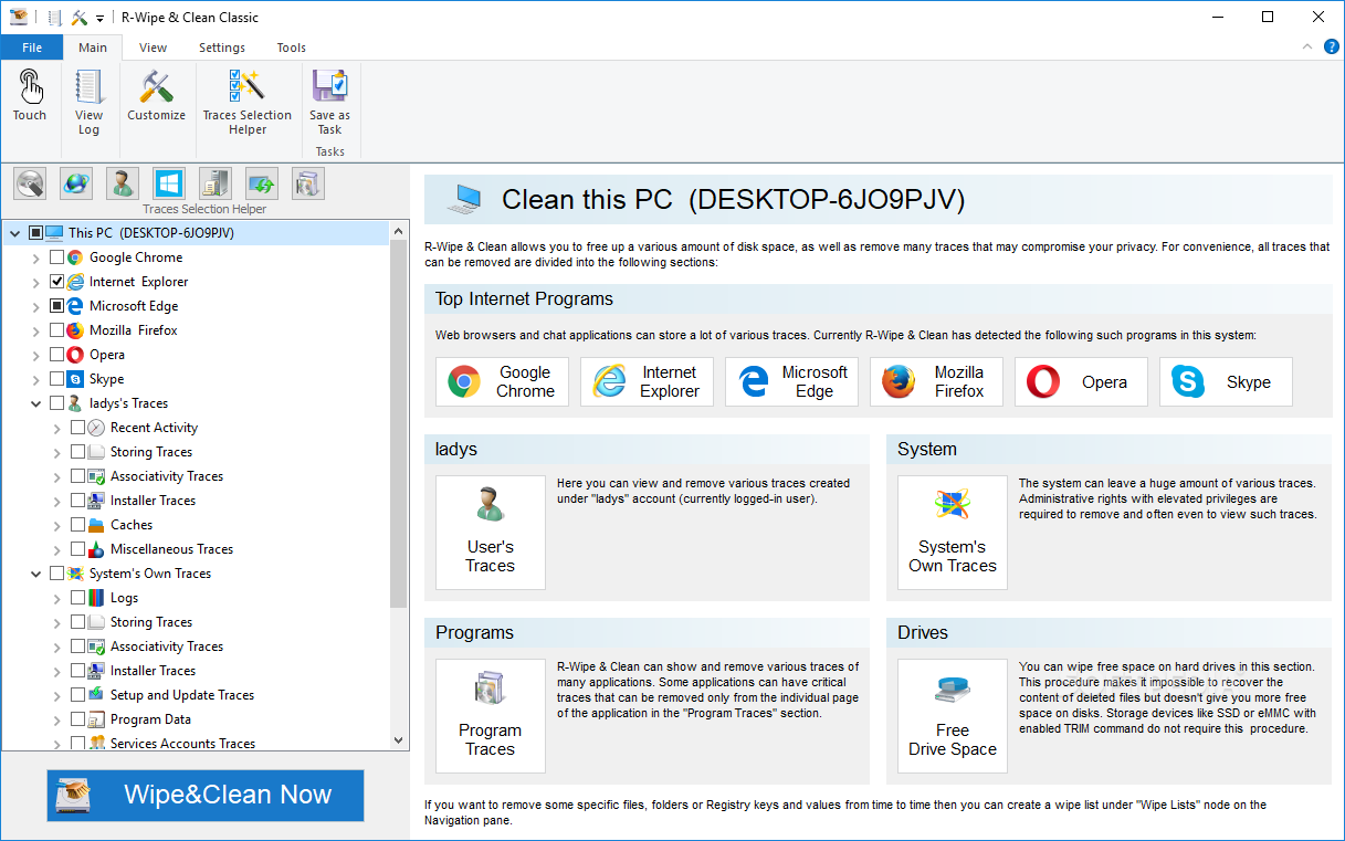 R-Wipe & Clean Crack 20.0 Build 2308 Latest Version Free Download
