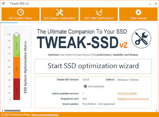 Tweak-SSD Crack 2.0.70 Latest Version 2021 Free Download