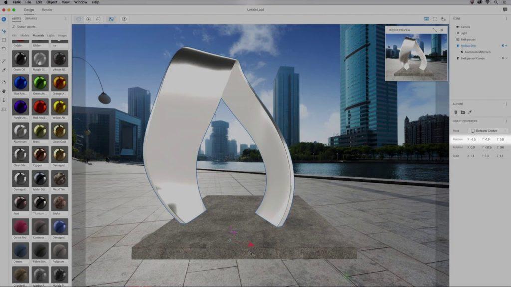 Adobe Dimension CC Crack 2021 3.4.1 Latest Version