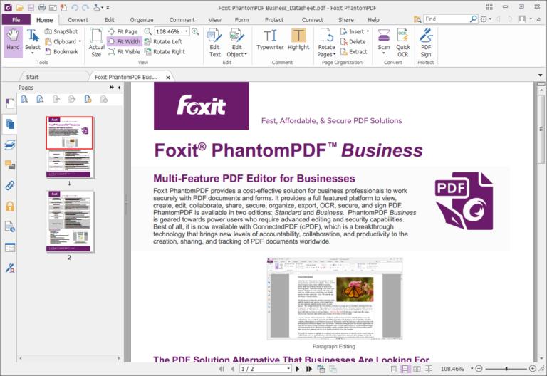 Foxit PhantomPDF Crack Business 10.1.1.37576 Latest Version 2021