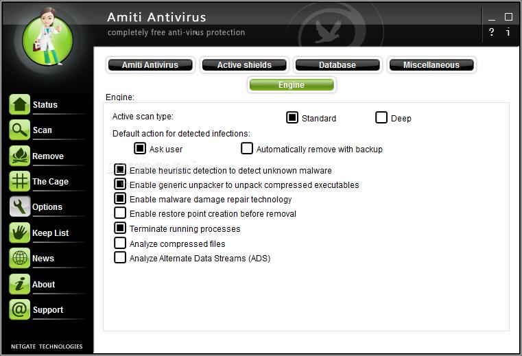 NETGATE Amiti Antivirus 2021 Crack 25.0.810 [Latest] Download