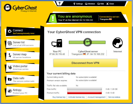 CyberGhost VPN 8.2.4.7664 Crack With Activation Code 2021